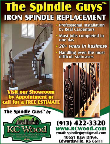 iron spindles for stairs