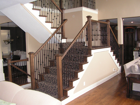 Exceptionnel Iron Spindles Update A Home, Staircase Lenexa Kansas