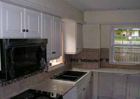 Thermo Foil Custom Kitchen Cabinets Kc Wood