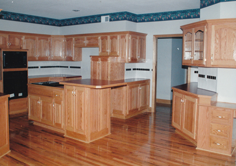 Captivating ... Kitchen Cabinets Ideas Red Oak Cabinets Kitchen : Red Oak Cabinets  Kitchen ... Photo Gallery